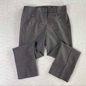 Anne Klein black/white checkered dress pants 4P